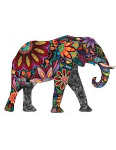 """Décalcomanie """"Éléphant"""" - 5..."""