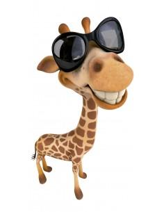 "Décalcomanie ""Girafe à..."