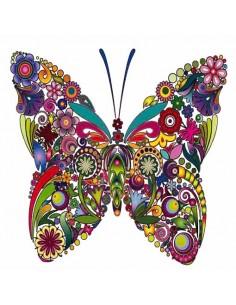 """Décalcomanie """"Papillons"""" -..."""