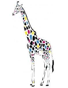 """Décalcomanie """"Girafe"""" - 20..."""