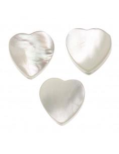 Perles de Nacre Cœurs...