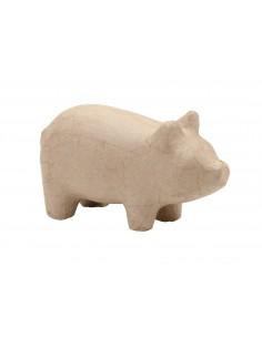 """Figurine en carton """"Cochon""""..."""