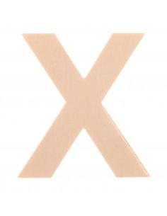 "Lettre ""X"" en bois..."