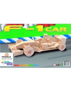 """Kit 3D en bois """"F1 Car"""" -..."""