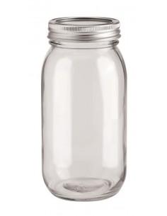 Bocal en verre - 8.5 x 7 x...
