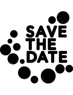 """Tampon Nio """"Save the date""""..."""