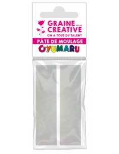 """Pâte Oyumaru """"Blanc"""""""