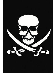 "Pochoir Adhésif ""Pirate"" -..."