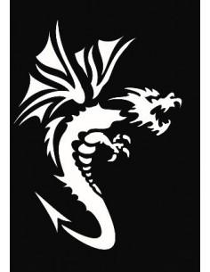 """Pochoir Adhésif """"Dragon"""" -..."""