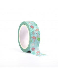 """Tape décoratif """"Flamant..."""