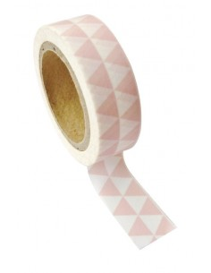 "Tape décoratif "" Triangles""..."