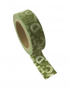 "Tape décoratif ""Vert..."