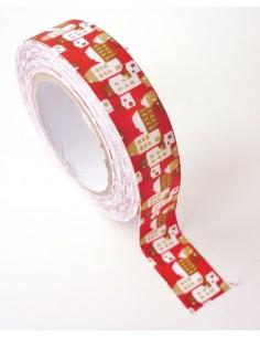 "Tape en tissu ""Ville"" - 15..."