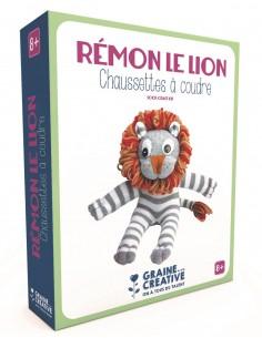 """Chaussette à coudre """"Lion""""..."""