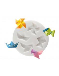 """Moule en silicone """"Origami""""..."""
