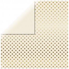 Papier scrapbooking Gold...