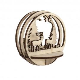 Insert en bois pour boule...