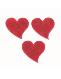 Petits cœurs en forme de...