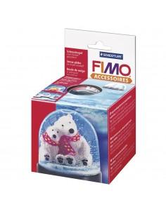 Fimo Boule à Neige Ronde -...
