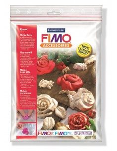 "Moule Fimo ""Roses"""