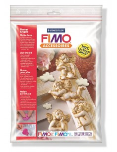 """Moule Fimo """"Young Angels"""""""