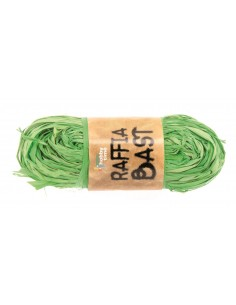 "Raphia ""Jaune-Vert"""