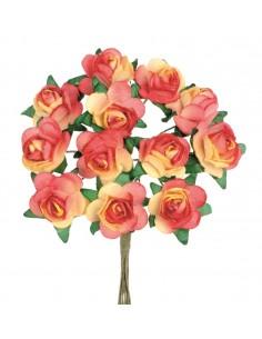 """Mini-Roses """"Orange"""" - Ø 1.5 cm"""