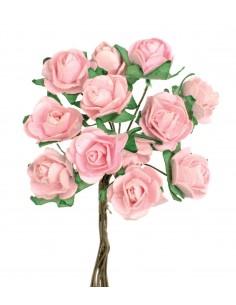 """Mini Roses """"Rose"""" - Ø 1.5 cm"""