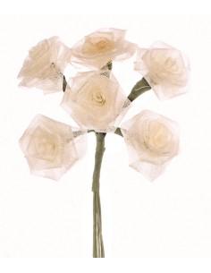 "Roses Dior 6 Fleurs ""Crème""..."