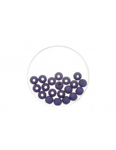 """Perles Polaris Mat """"Bleu..."""