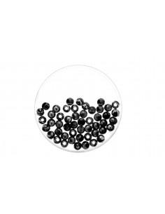 "Perles Métalliques ""Noir"" -..."
