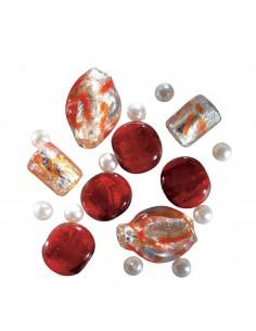 Set Mix Perles en Verre...