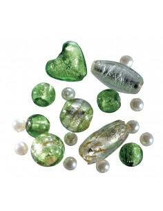Set Mix de Perles en Verre...