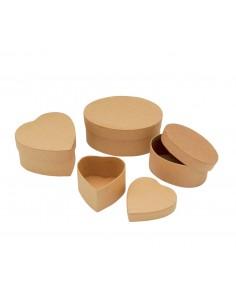 Boîtes Ovales & en formes...
