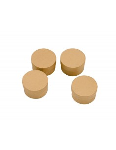 Boîtes Rondes en carton - Ø...