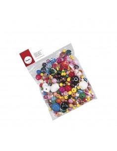 """Perles en Bois """"Multicolores"""""""