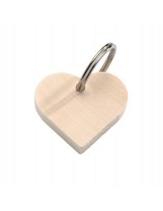 Porte-Clé en bois en forme...