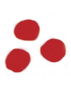 """Pompons """"Rouge"""" - Ø 7 mm"""