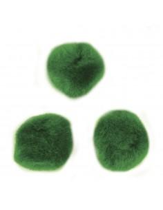 "Pompons ""Vert"" - Ø 7 mm"