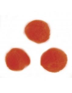 """Pompons """"Orange"""" - Ø 10 mm"""