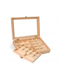 Boîte à bijoux en bois - 40...