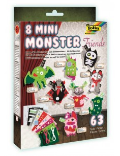 Kit Mini Monster Friends