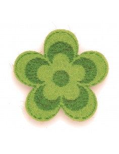 """Fleurs en Feutrine """"Vert..."""