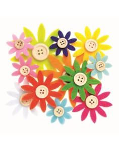 Fleurs en Feutrine avec...