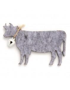 """Vaches en Feutrine """"Gris"""" -..."""