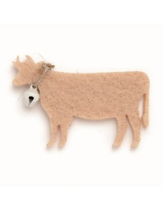 """Vaches en Feutrine """"Beige""""..."""