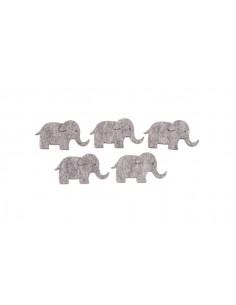 Éléphants en Feutrine...