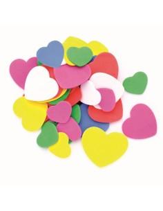 Cœurs en Mousse - 2.5 à 5 cm