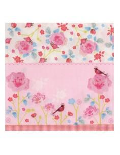 """Serviettes en Papier """"Pink..."""