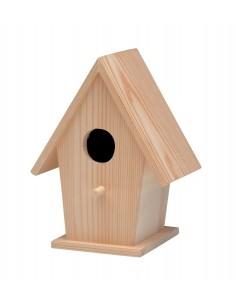 Maison d'oiseaux pointue en...